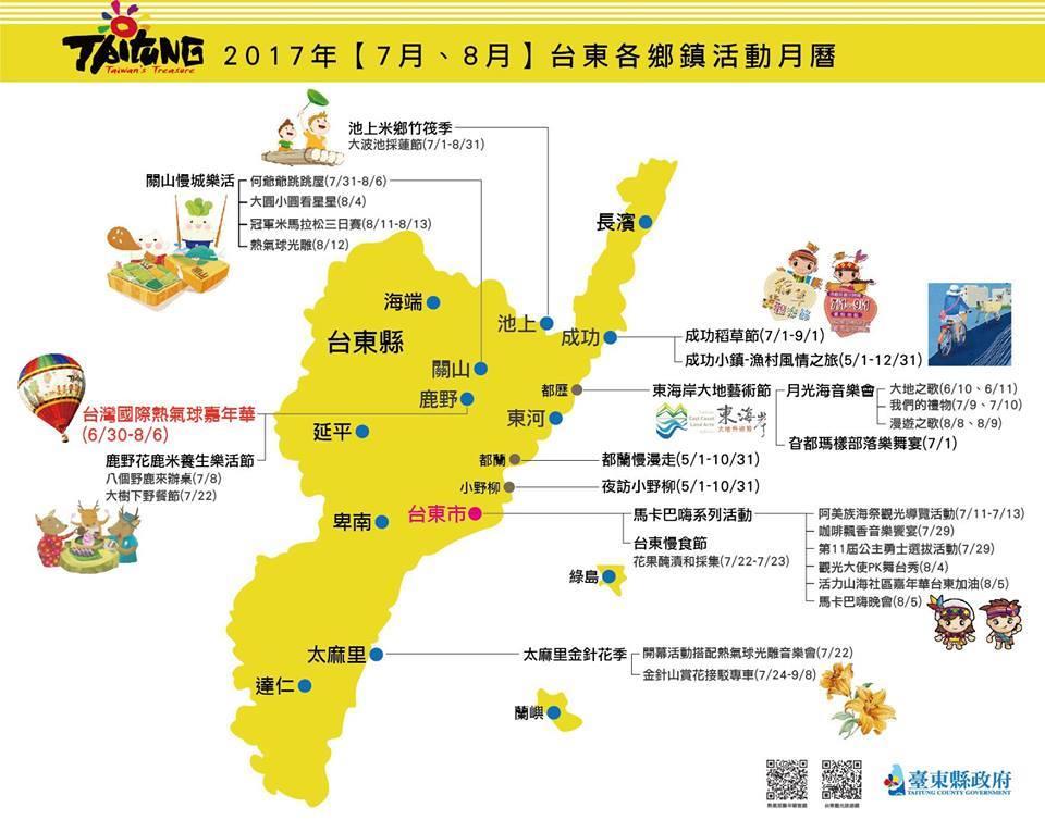 2017台東暑假活動分享台東貓追熊民宿推薦分享
